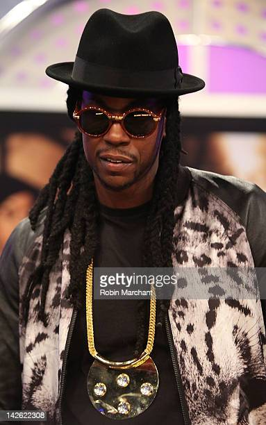 2e782abc24a Chainz visits BET s 106 Park on April 9 2012 in New York City. Kanye West  ...