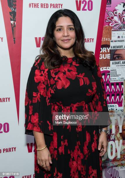 Chair and VDay Programs Director Purva Panday Cullman attends The Red Party 20th Anniversary Celebration Of VDay and The Vagina Monologues at...