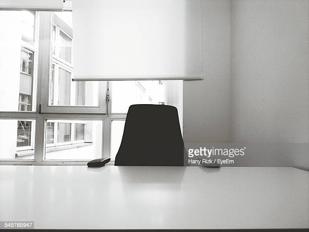 Chair At Empty Office Desk