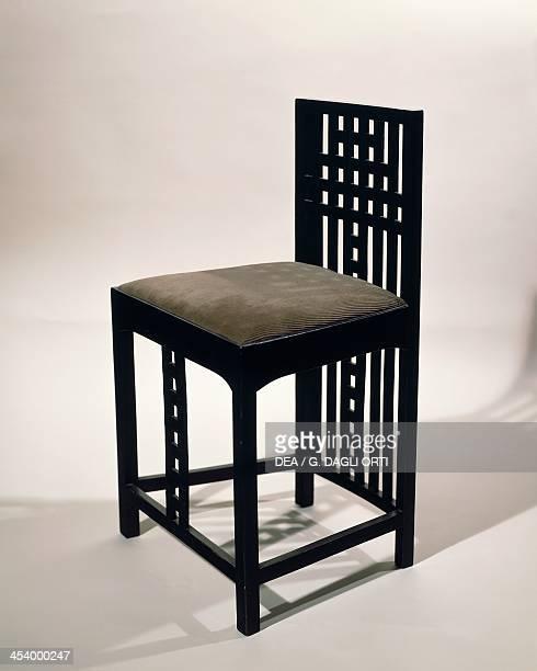 Chair by Charles Rennie Mackintosh sycamore United Kingdom 19th20th century