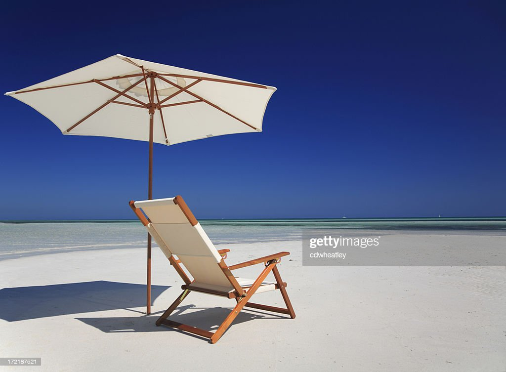 chair by the sea : Stock Photo