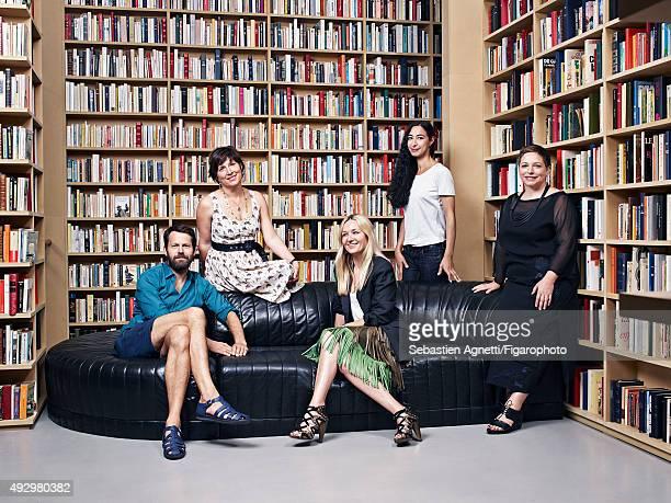 Chair designer Martino Gamper, perfume maker Daniela Andrier, fashion designer Julie de Libran, artists Latifa Echakhch and Kate McGwire are...