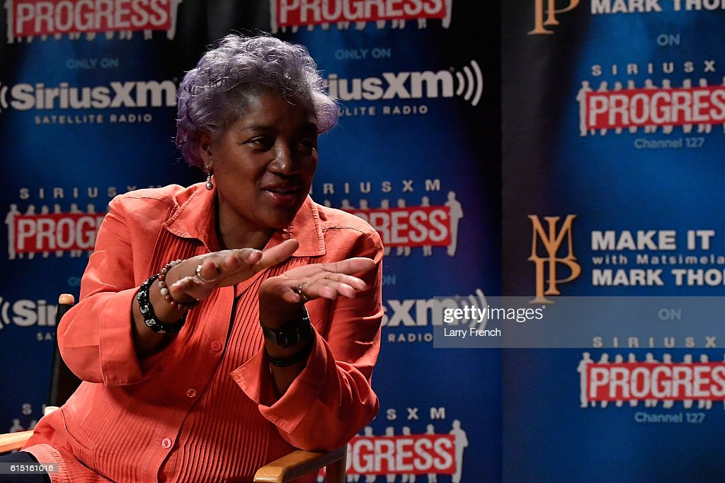"DNC Chair Donna Brazile Speaks With SiriusXM's Mark Thompson For The ""Leading Ladies"" Series"