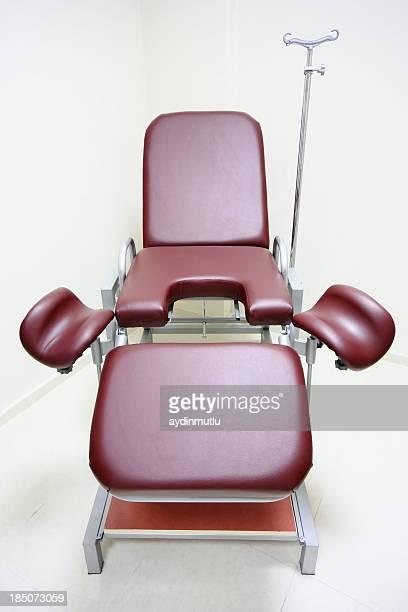 椅子に gynecologists ルーム - gynecological examination ストックフォトと画像