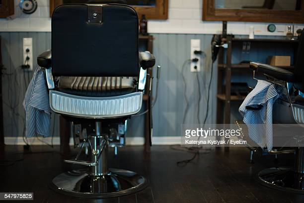 Chair In Barber Shop