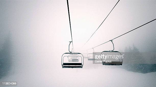 chair lift - ski lift stock pictures, royalty-free photos & images