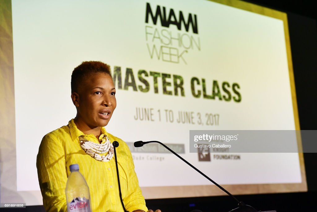 Chair Miami Fashion Institute At Miami Dade College Asanyah News Photo Getty Images