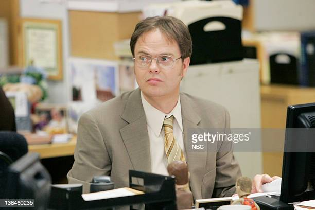 THE OFFICE Chair Model Episode 10 Aired Pictured Rainn Wilson as Dwight Schrute