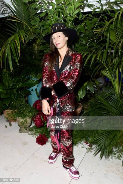 Chair of Faena Art Ximena Caminos attends the Gucci X Artsy dinner at Faena Hotel on December 6 2017 in Miami Beach Florida