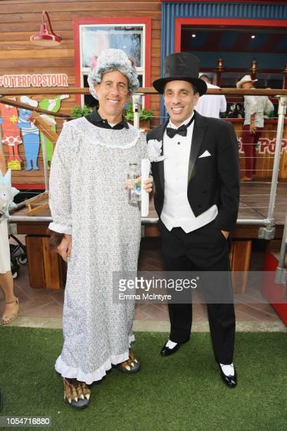 Chair of Fatherhood Leadership Council GOOD Foundation Jerry Seinfeld and Sebastian Maniscalco attend the 2018 GOOD Foundation's 3rd Annual Halloween...