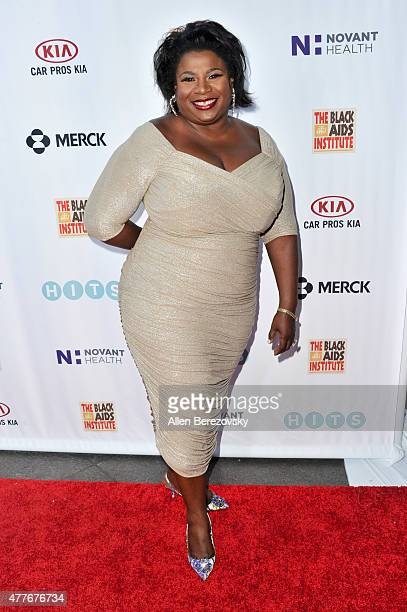 Chair of the Black AIDS Institute Grazell Howard attends the Black AIDS Institute 2015 Heroes in the Struggle Reception Gala and Awards Ceremony at...