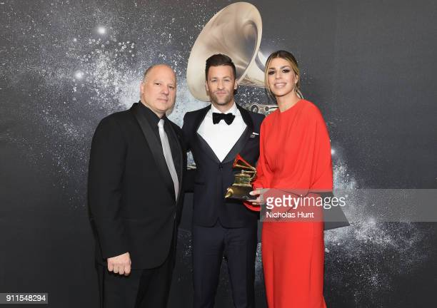 Chair of the Board for The Recording Academy John Poppo and Recording artist Ben Fielding and Brooke Ligertwood of musical group Hillsong Worship...