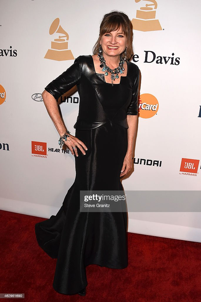 Chair of the Board of Trustees for The Recording Academy Christine Albert attends the Pre-GRAMMY Gala and Salute To Industry Icons honoring Martin Bandier on February 7, 2015 in Los Angeles, California.