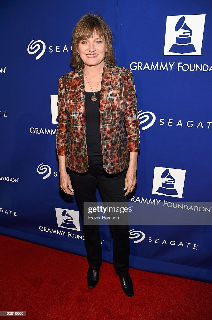 Chair of the Board Trustees of the Recording Academy Christine Albert attends the GRAMMY Foundation's 17th annual Legacy Concert Lean On Me: A Celebration of Music and Philanthropy at Wilshire Ebell Theatre on February 5, 2015 in Los Angeles, California. For more information visit grammyfoundation.org.