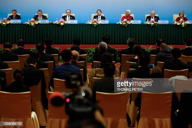 Chair of the Financial Stability Board Mark Carney World Trade Organisation DirectorGeneral Roberto Azevedo World Bank President Jim Yong Kim Chinese...