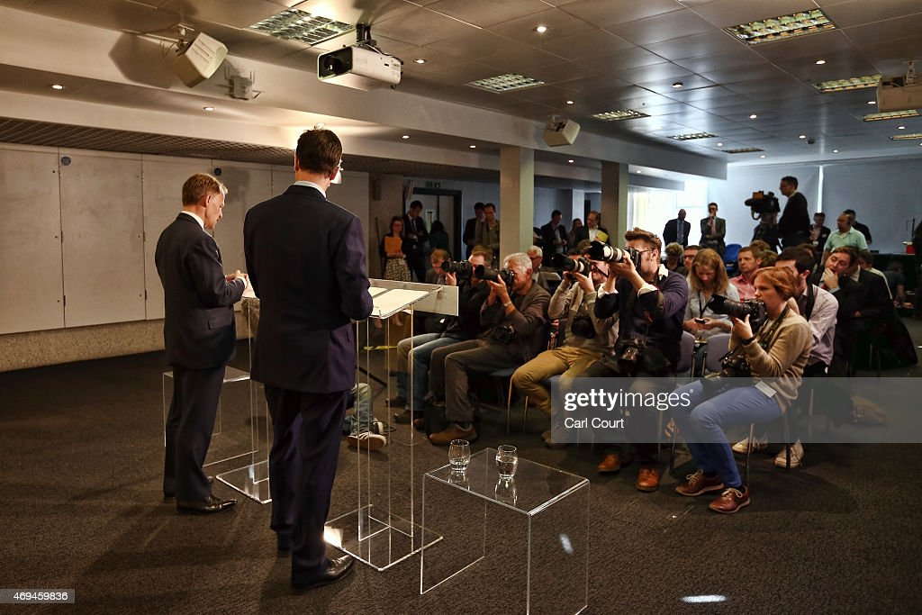 Liberal Democrats Outline Manifesto Expenditure : News Photo