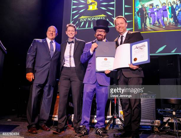 Chair of the Recording Academy Board of Trustees John Poppo SF Chapter President Piper Payne Nominee for Best Children's Album Infinity Plus One Joel...