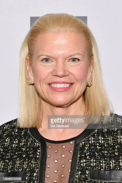 Chair President and CEO of IBM Ginni Rometty attends the Ad Council's 65th Annual Public Service Award Dinner at New York Hilton Midtown on December...