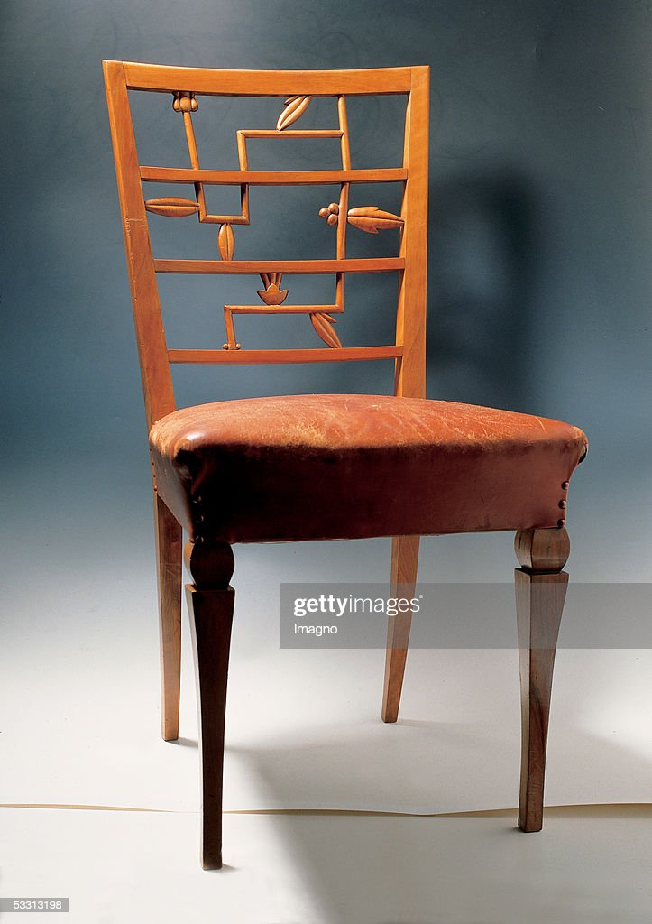 Chair Probably From Otto Prutscher Designed By Otto