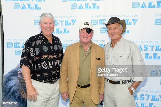 GLAZA Chair Richard Corgel Stop Ivory's David Stulb and Director Emeritus of the Columbus Zoo Jack Hanna attend the Greater Los Angeles Zoo...