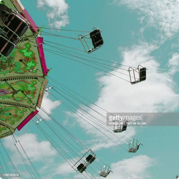 Chair ride in París