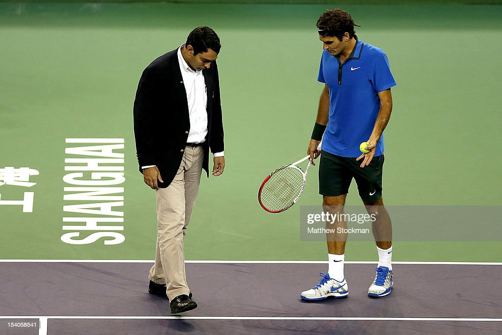2012 Shanghai Rolex Masters - Day 7 : News Photo
