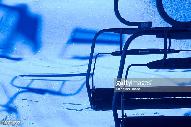 Chairlift in Winter