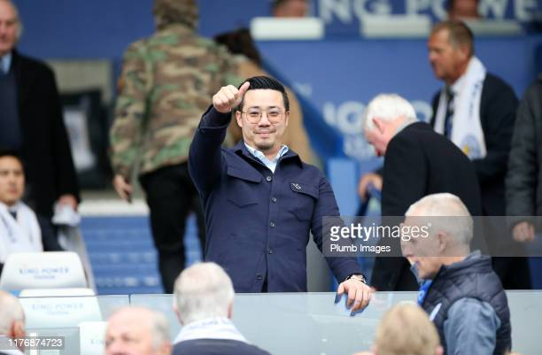 Chairman Aiyawatt Srivaddhanaprabha of Leicester City during the Premier League match between Leicester City and Burnley at The King Power Stadium on...