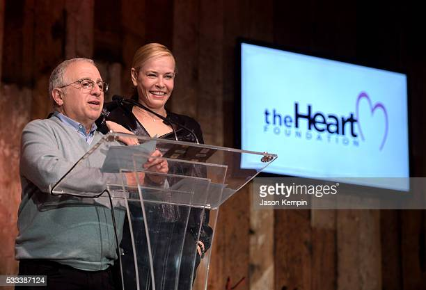 Chairman and CEO Azoff/MSG Entertainment Irving Azoff and tv personality Chelsea Handler speak onstage during The Heart Foundation 20th Anniversary...