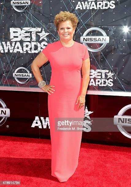 Chairman and CEO Debra L Lee attends the 2015 BET Awards at the Microsoft Theater on June 28 2015 in Los Angeles California