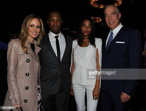 Chairman and CEO Fox Television Group Dana Walden 24 LEGACY cast member Corey Hawkins PITCH cast member Kylie Bunbury and Chairman and CEO Fox...