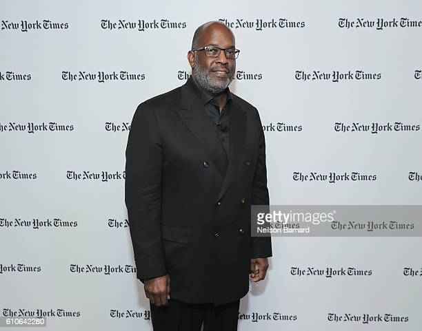 Chairman and CEO Kaiser Permanente Bernard J Tyson attends the New York Times Food For Tomorrow Conference 2016 on September 27 2016 in Pocantico New...