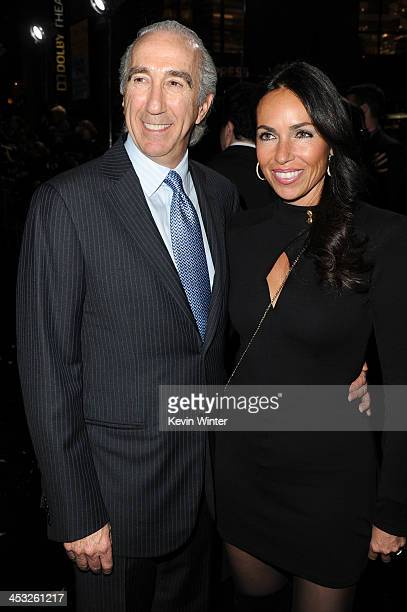 Chairman and CEO MGM Gary Barber and Nadine Barber attend the premiere of Warner Bros' 'The Hobbit The Desolation of Smaug' at TCL Chinese Theatre on...