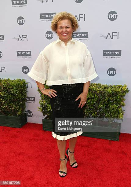 Chairman and CEO of BET Debra L Lee attends American Film Institute's 44th Life Achievement Award Gala Tribute to John Williams at Dolby Theatre on...