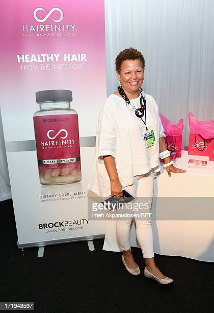 Chairman and CEO of BET, Debra L. Lee attends day 1 of Backstage Creations Celebrity Gifting Suite during the 2013 BET Awards at L.A. LIVE on June...