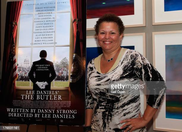 Chairman and CEO of BET Debra L Lee attends the Lee Daniels' The Butler Screening Hosted By Professor Henry Louis Gates Jr at the Martha's Vineyard...