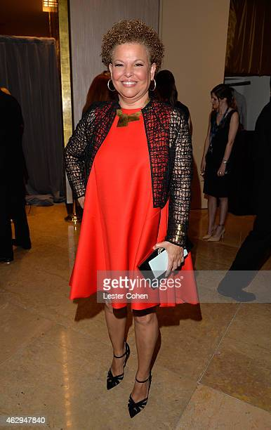 Chairman and CEO of BET Debra L Lee attends the PreGRAMMY Gala and Salute to Industry Icons honoring Martin Bandier at The Beverly Hilton Hotel on...