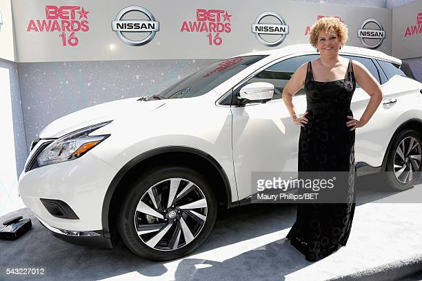 Chairman and CEO of BET Networks Debra L Lee attends the Nissan red carpet during the 2016 BET Awards at the Microsoft Theater on June 26 2016 in Los...