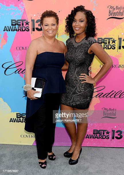 Chairman and CEO of BET Networks Debra Lee and daughter Ava Coleman attend Debra Lee's PreBET Awards Celebration Dinner at Milk Studios on June 29...