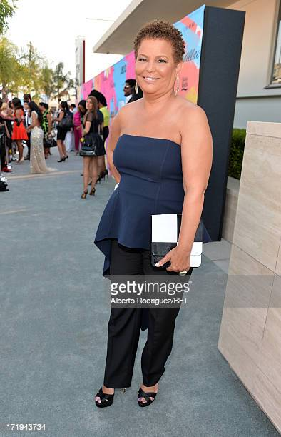 Chairman and CEO of BET Networks Debra Lee attends Debra Lee's PreBET Awards Celebration Dinner at Milk Studios on June 29 2013 in Los Angeles...