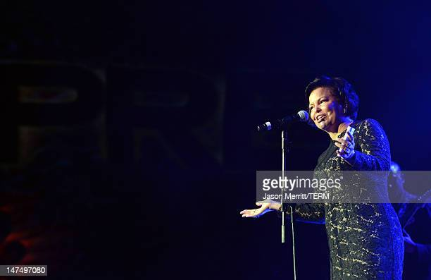 Chairman and CEO of BET Networks Debra Lee speaks onstage at Debra Lee's PreBET Awards Celebration during the 2012 BET Awards at Union Station on...