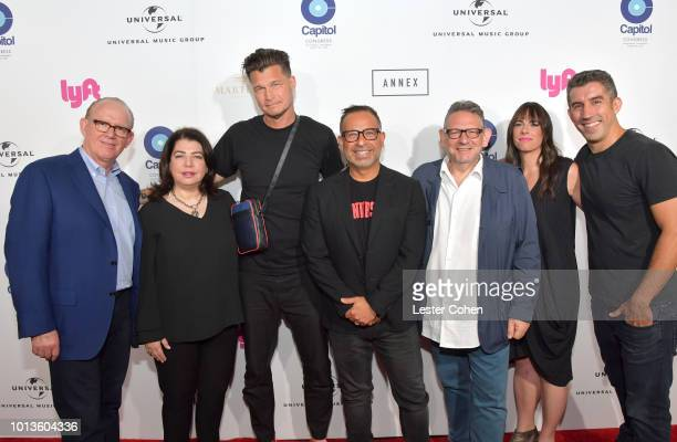Chairman and CEO of Capitol Music Group Steve Barnett Executive Vice President of Universal Music Group Michele Anthony Chief Creative Officer of...