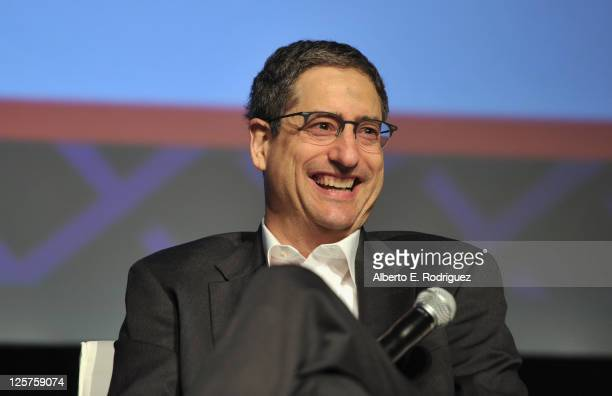 Chairman and CEO of Fox Filmed Entertainment Tom Rothman speaks onstage during day 2 of Variety's 4th Annual 3D Entertainment Summit at Hollywood and...