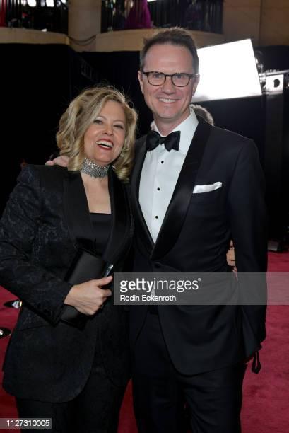 Chairman and CEO of Fox Networks Group Peter Rice and Megan Haller attend the 91st Annual Academy Awards at Hollywood and Highland on February 24...