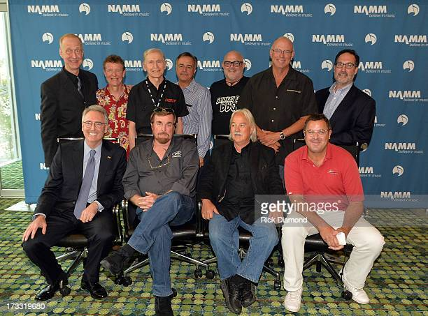Chairman and CEO of Gibson Guitar Corp Henry Juszkiewicz CEO of Martin Guitars Chris Martin president of The Gretsch Company Fred Gretsch Daddario...