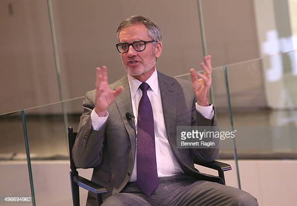 Chairman and CEO of iHeartMedia Inc Robert Pittman speaks at the iHeartMedia Hosts Future Of Entertainment Event During Fast Company's Innovation...