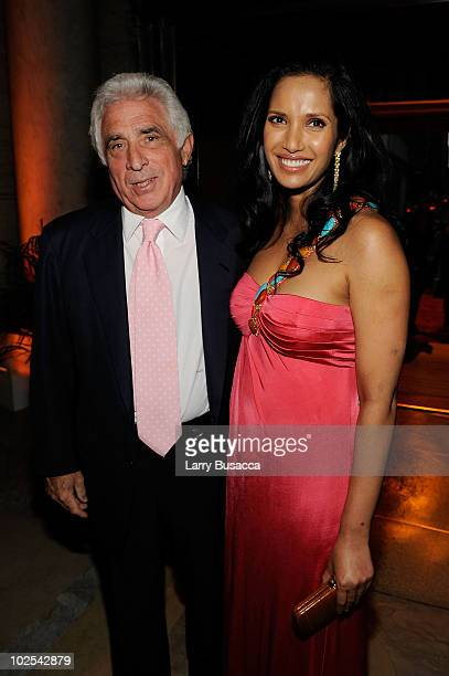 Chairman and CEO of IMG Ted Forstmann and TV Personality Padma Lakshmi attend the Second Annual Blossom Ball benefiting the Endometriosis Foundation...
