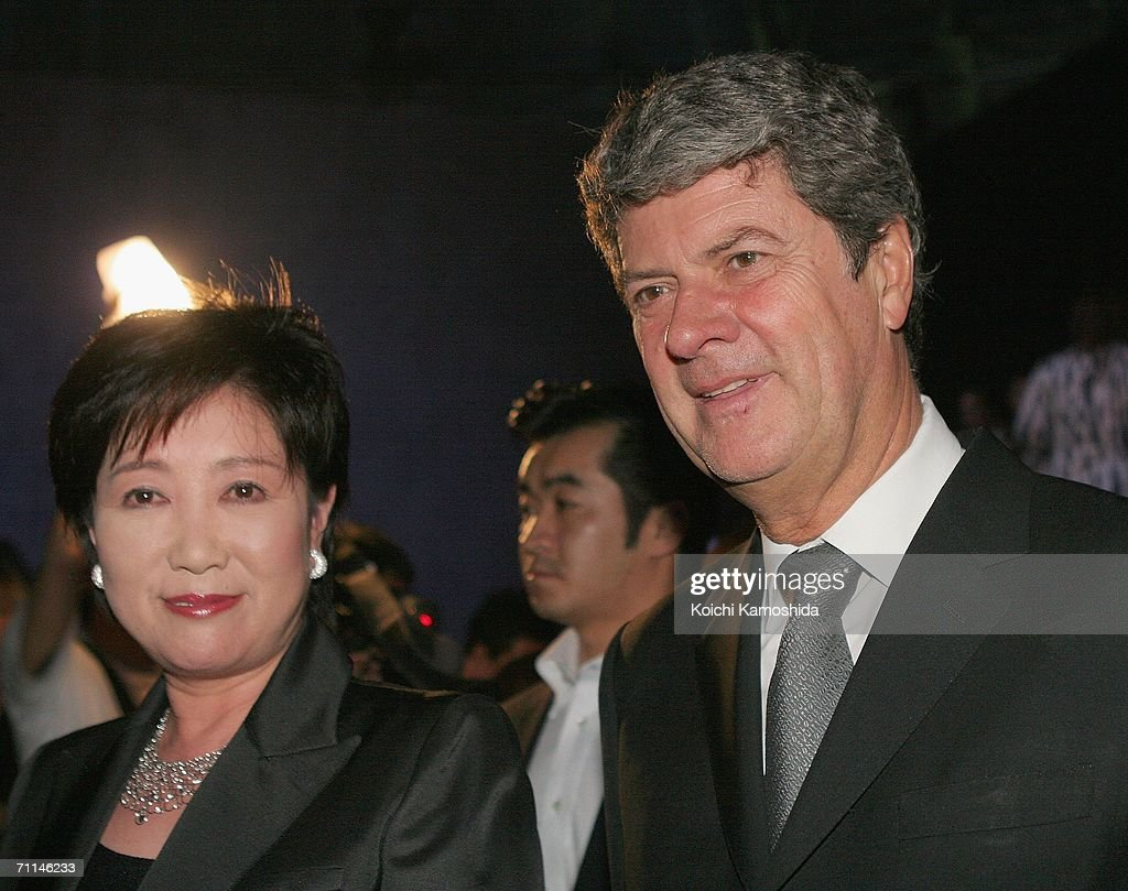 5aa5004fae0 Chairman and CEO of Louis Vuitton, Yves Carcelle and Japanese ...