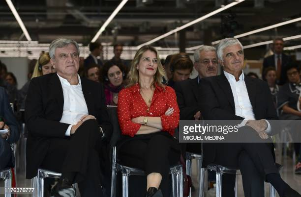 Chairman and CEO of LVMH Fashion Group Sidney Toledano CEO of luxury leather goods maker Celine Severine Merle and LVMH group managing director...