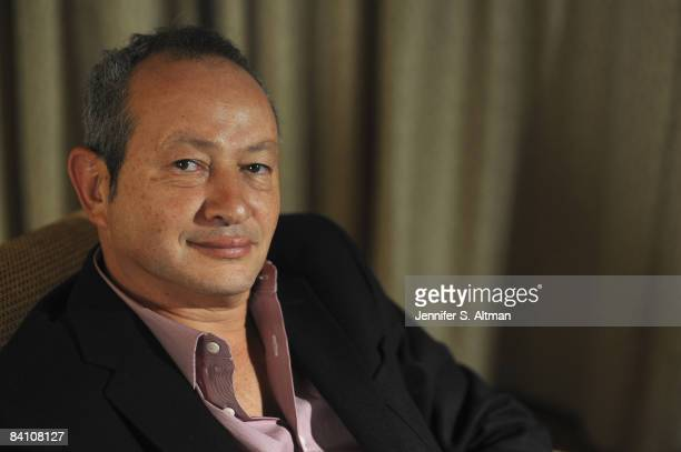 Chairman and CEO of Orascom Telecom Naguib Sawiris is photographed for Business Week Magazine on November 18 2008 in New York City
